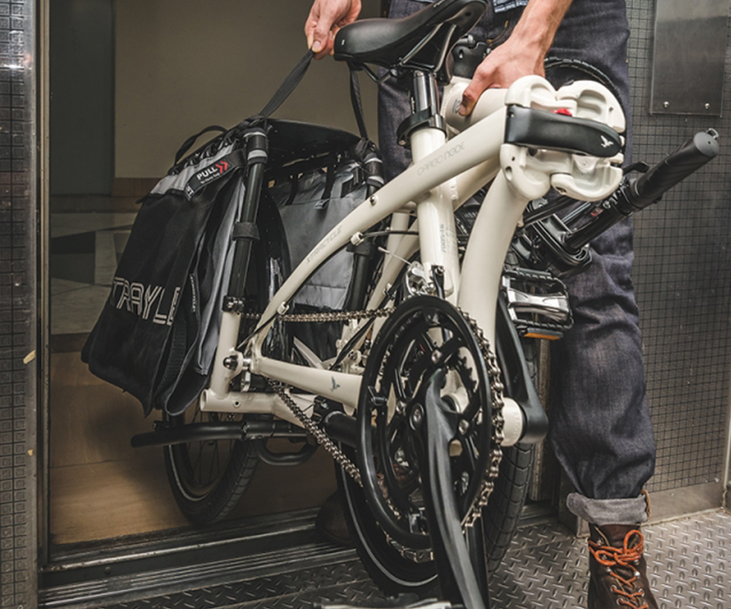 Tern E-Falt-Cargobikes